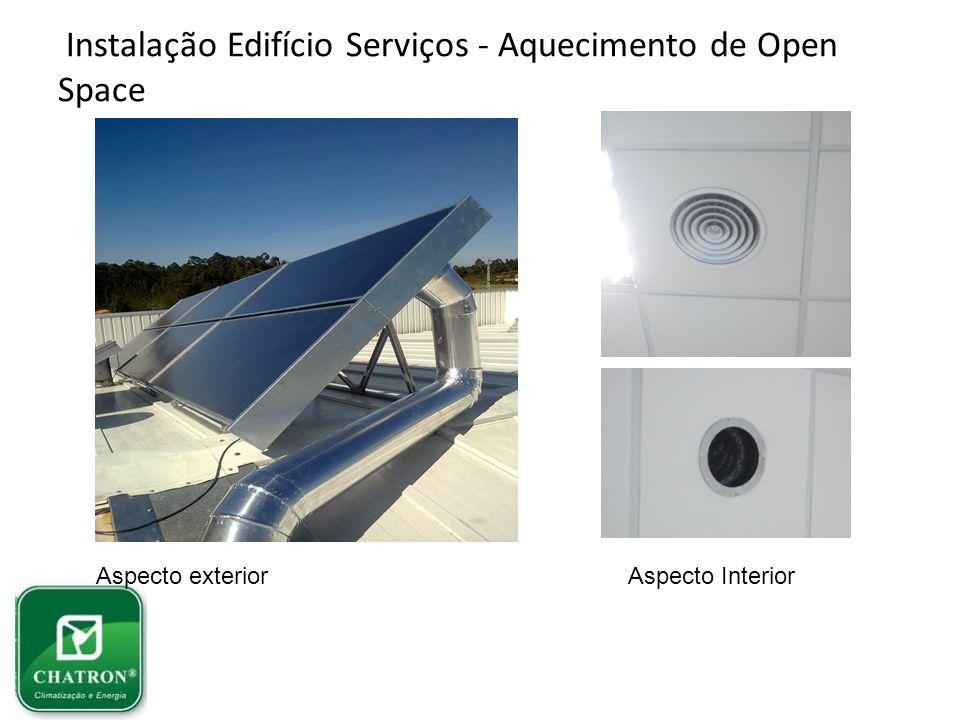 Instalação Edifício Serviços - Aquecimento de Open Space