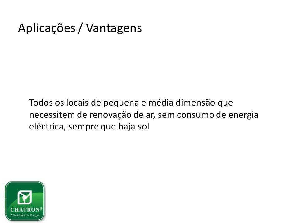 Aplicações / Vantagens