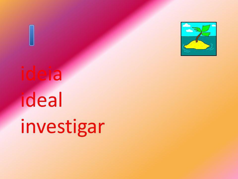ideia ideal investigar
