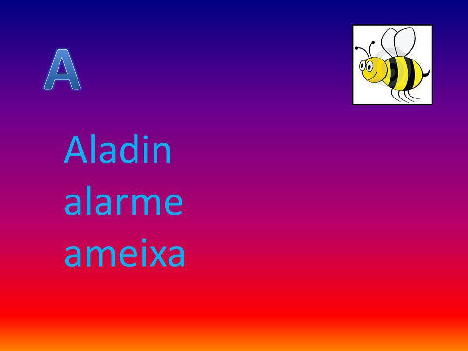 A Aladin alarme ameixa