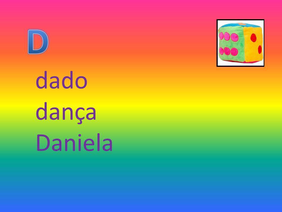 D dado dança Daniela