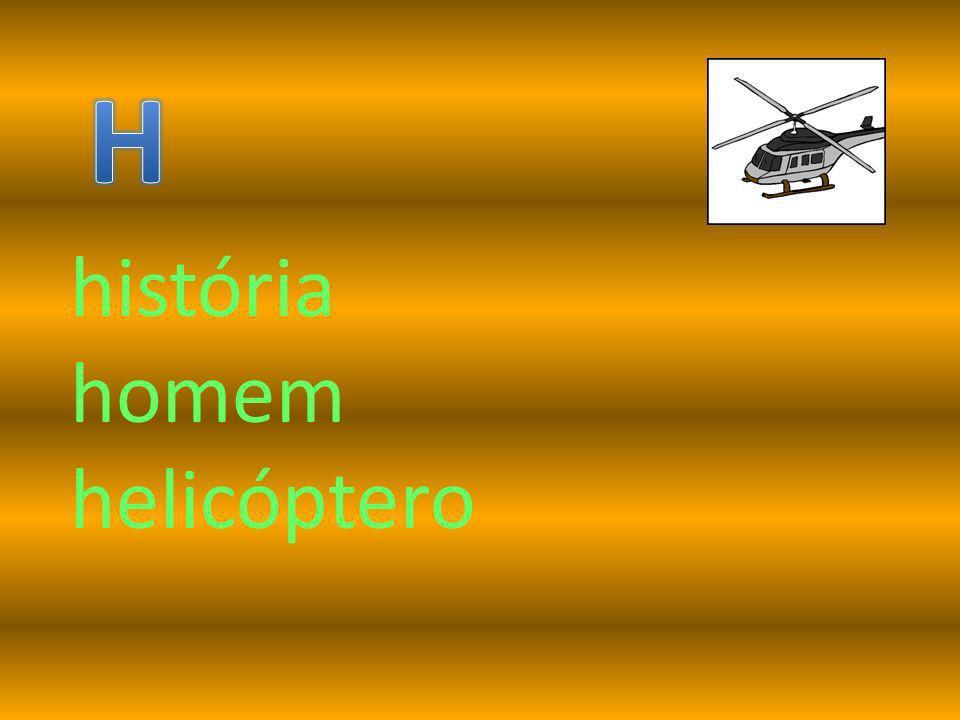 história homem helicóptero