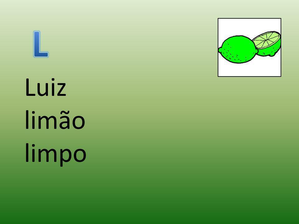 L Luiz limão limpo