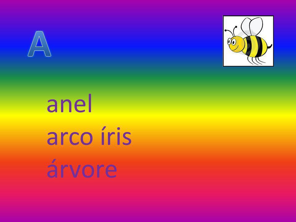 A anel arco íris árvore