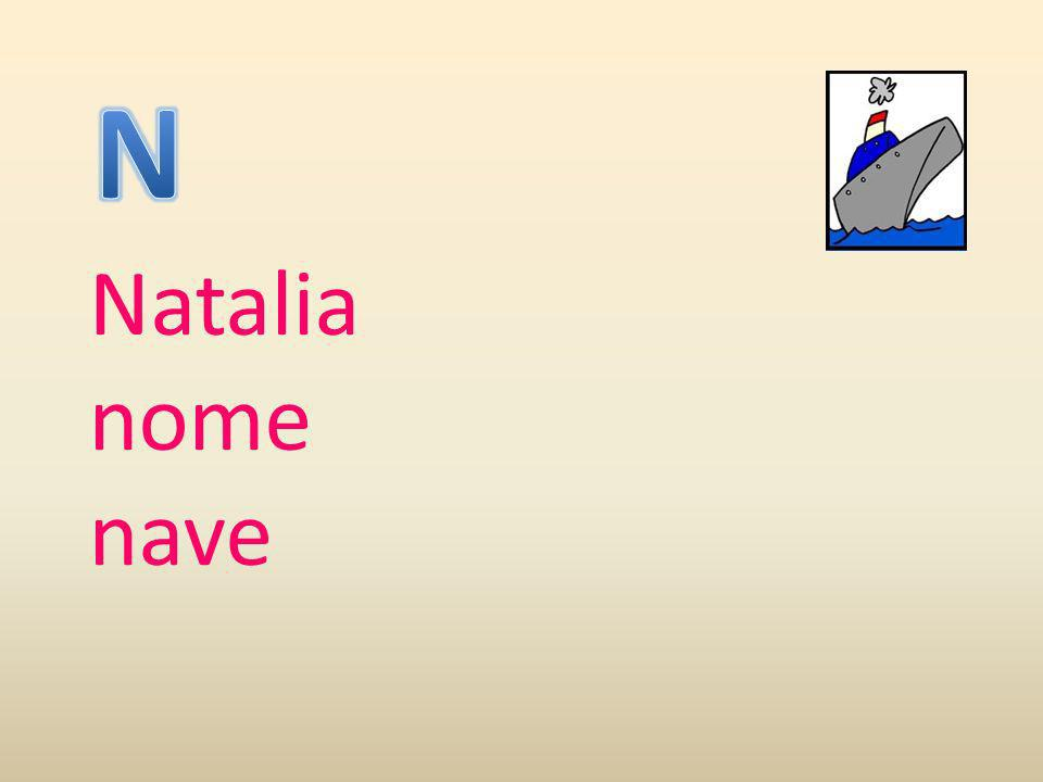 N Natalia nome nave