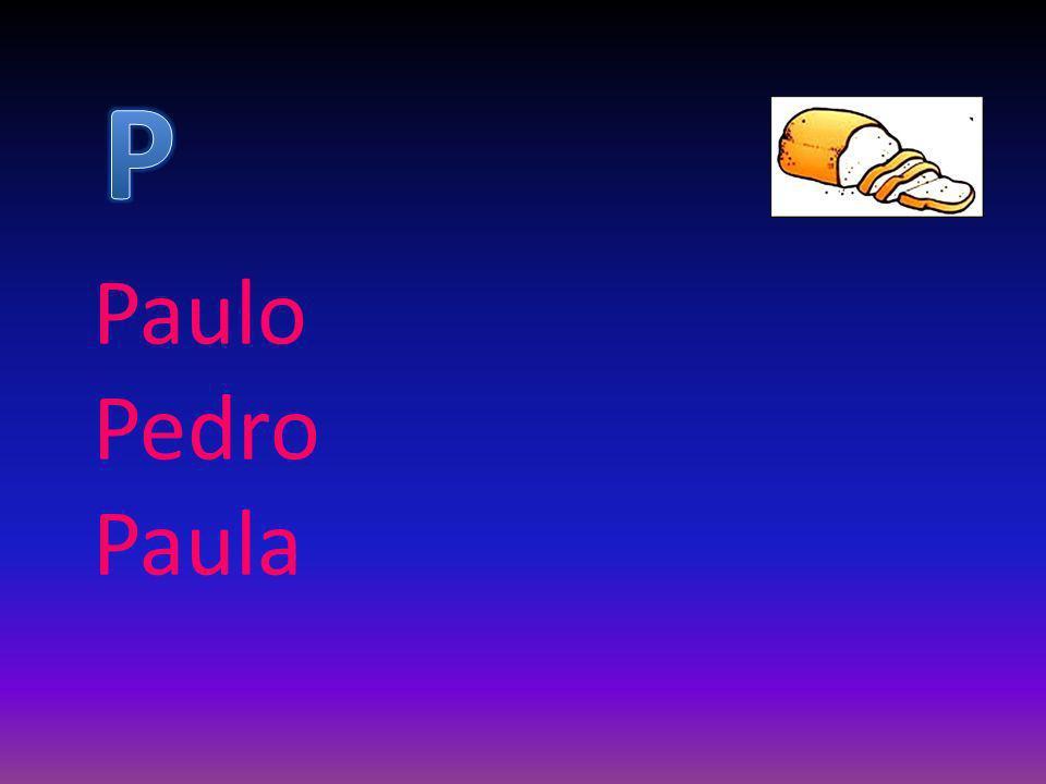 P Paulo Pedro Paula