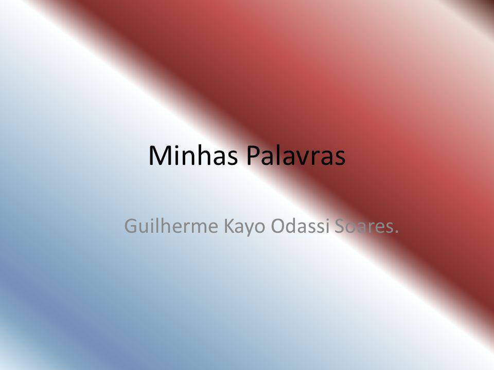 Guilherme Kayo Odassi Soares.