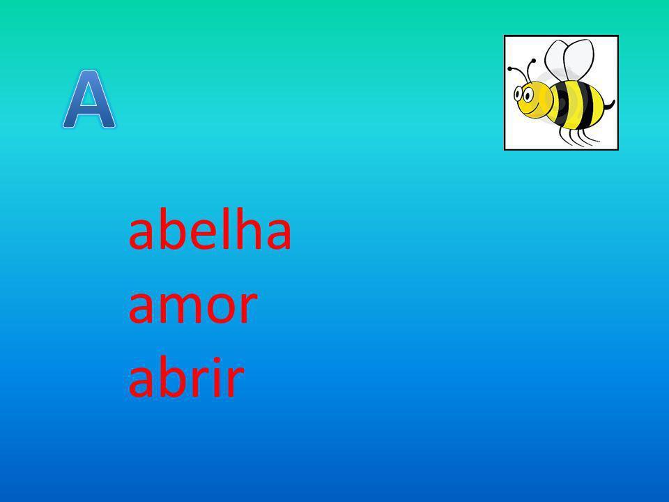 A abelha amor abrir