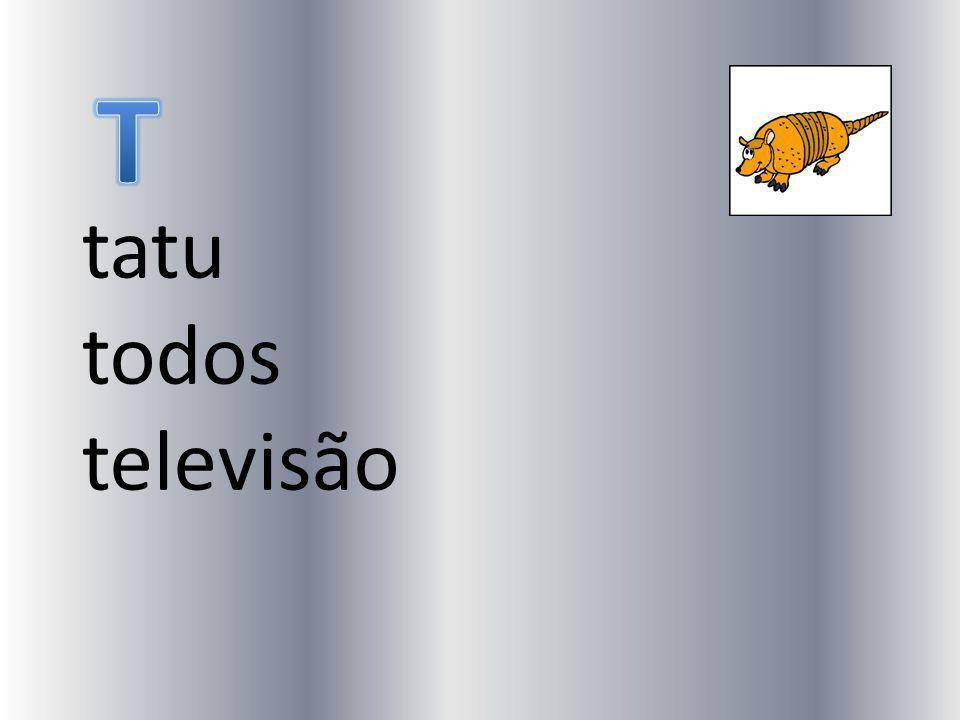 T tatu todos televisão