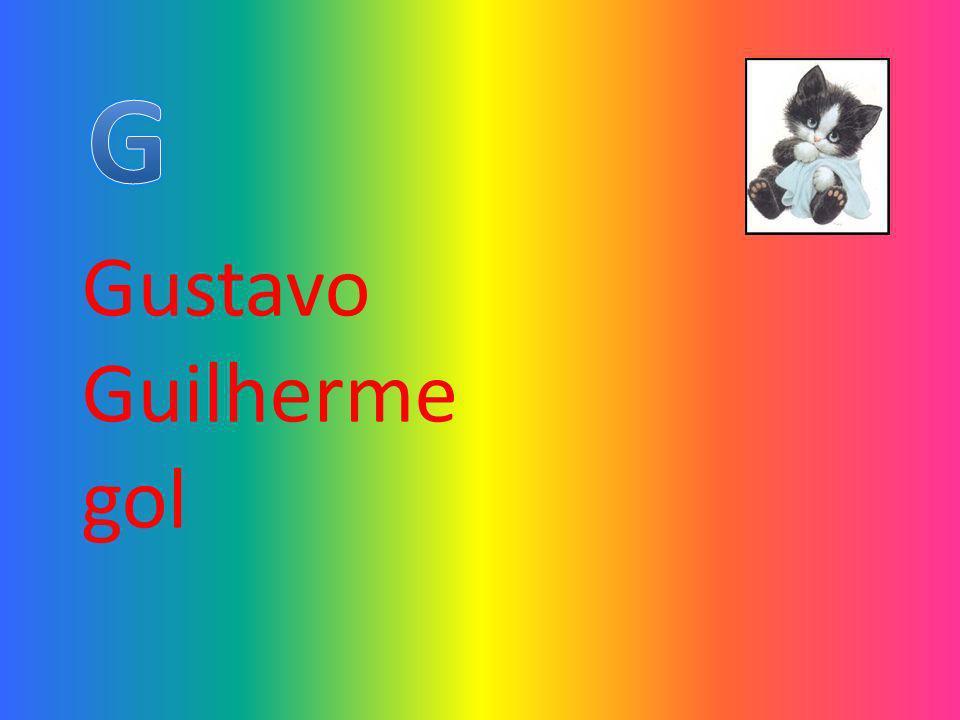 G Gustavo Guilherme gol
