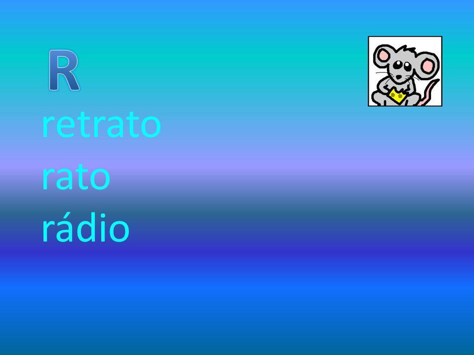 R retrato rato rádio
