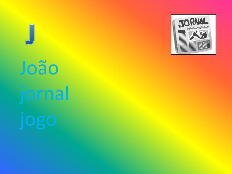 J João jornal jogo