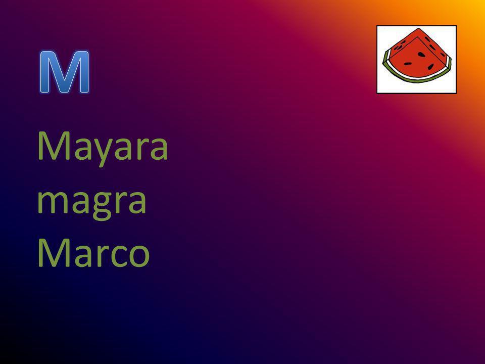 M Mayara magra Marco