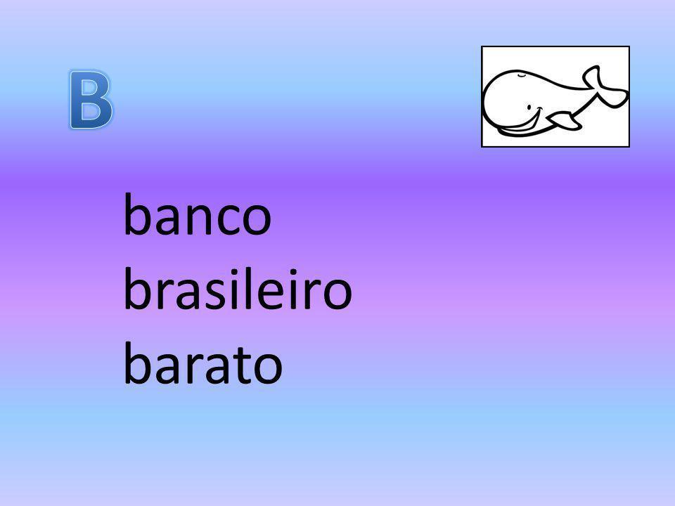 B banco brasileiro barato