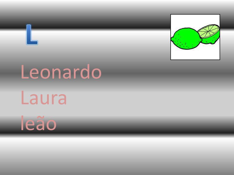 L Leonardo Laura leão
