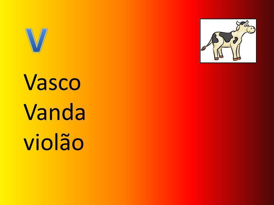V Vasco Vanda violão