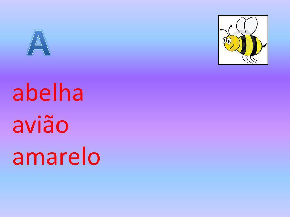 A abelha avião amarelo