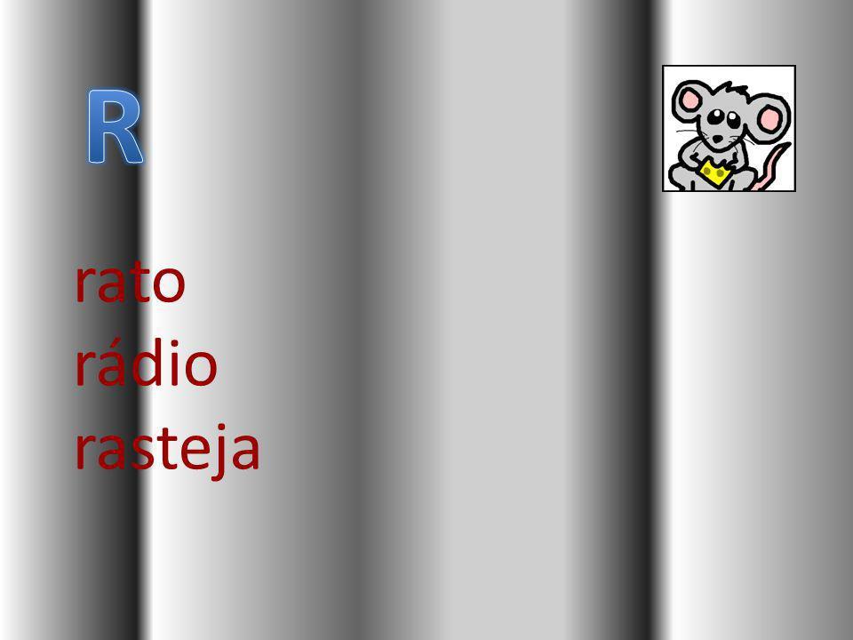 R rato rádio rasteja