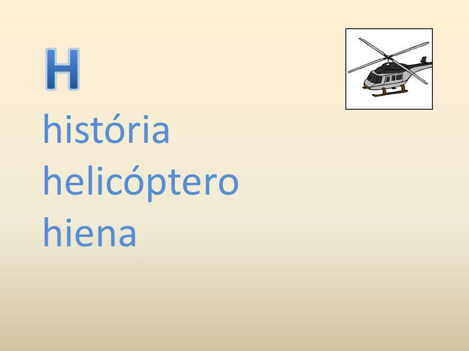 história helicóptero hiena