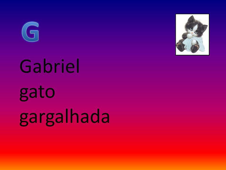 Gabriel gato gargalhada