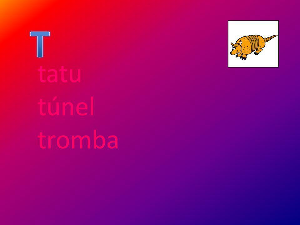 T tatu túnel tromba