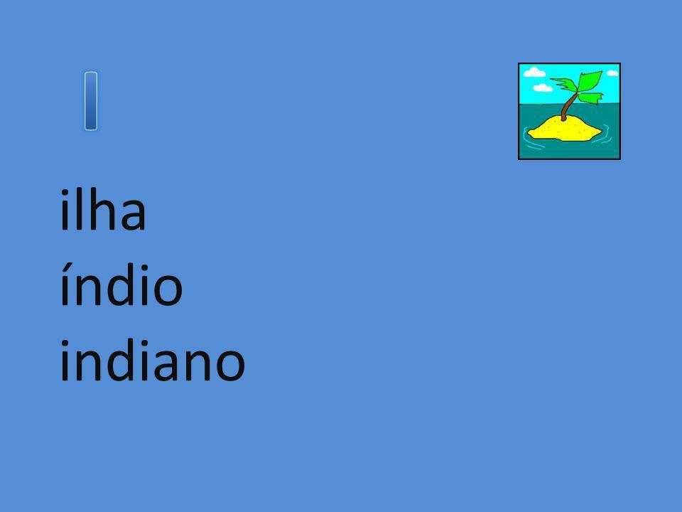 I ilha índio indiano