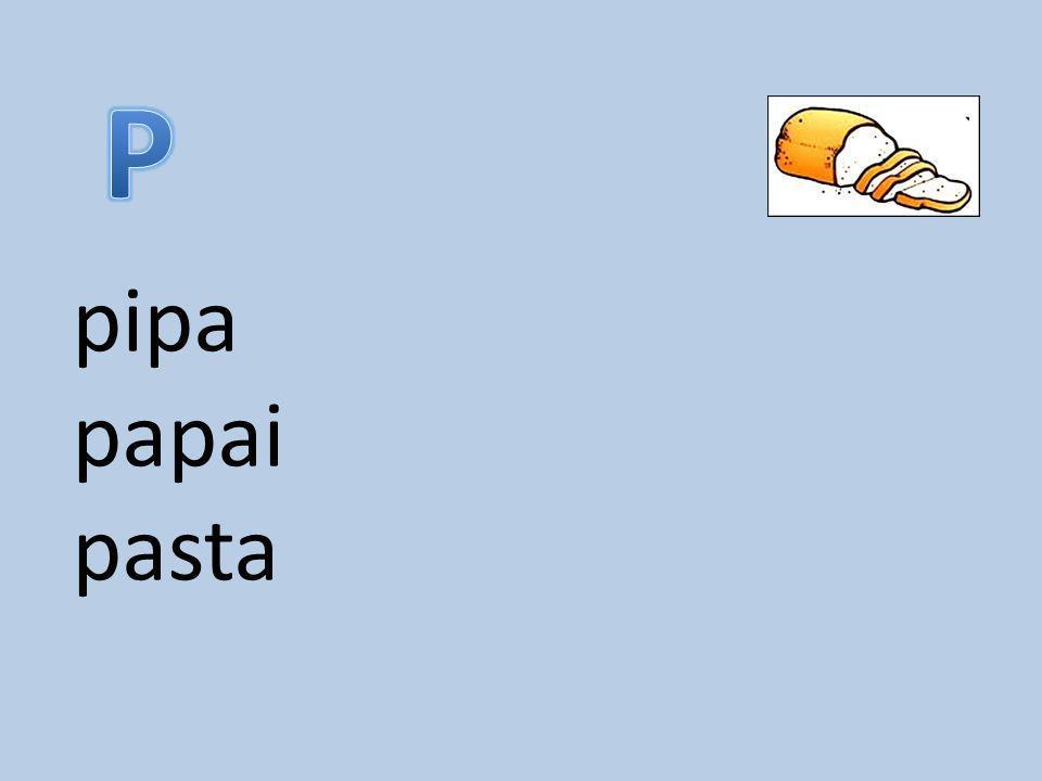 P pipa papai pasta