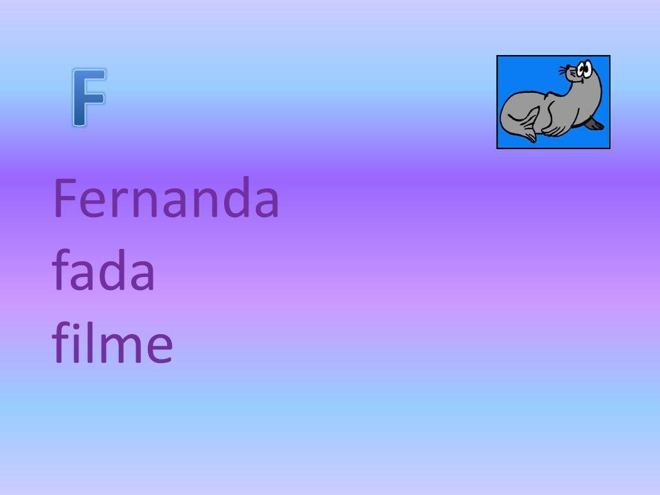 F Fernanda fada filme