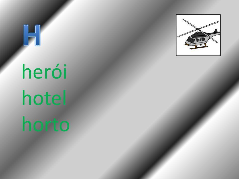 H herói hotel horto