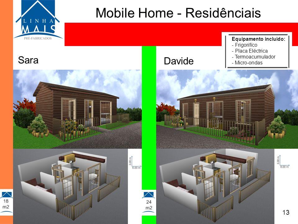 Mobile Home - Residênciais