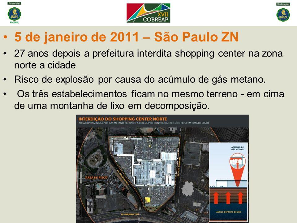 5 de janeiro de 2011 – São Paulo ZN