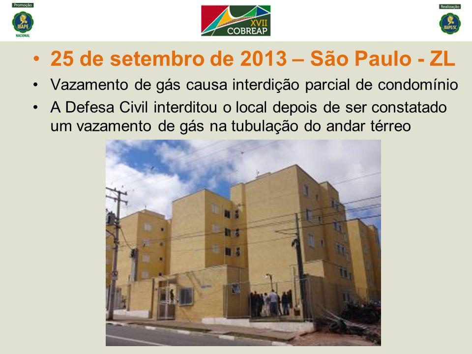25 de setembro de 2013 – São Paulo - ZL