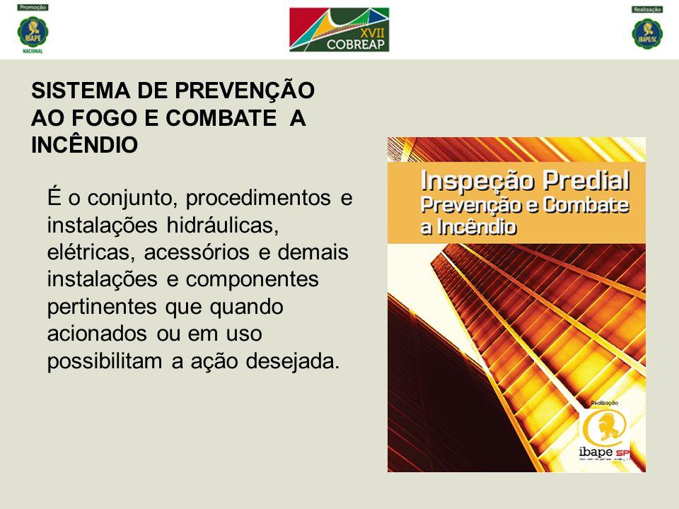 SISTEMA DE PREVENÇÃO AO FOGO E COMBATE A INCÊNDIO