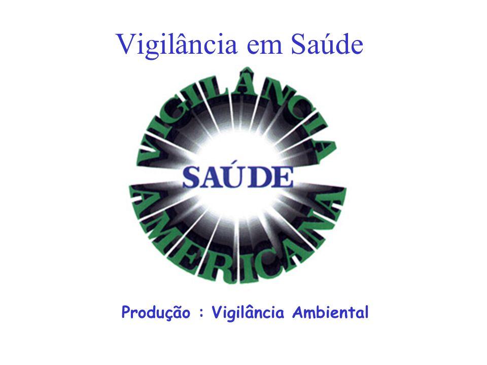 Produção : Vigilância Ambiental