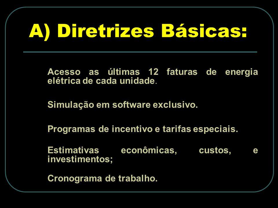 A) Diretrizes Básicas: