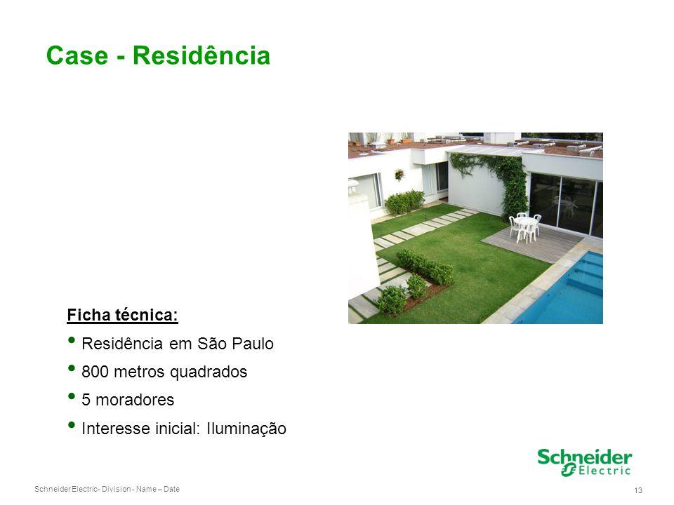 Case - Residência Ficha técnica: Residência em São Paulo