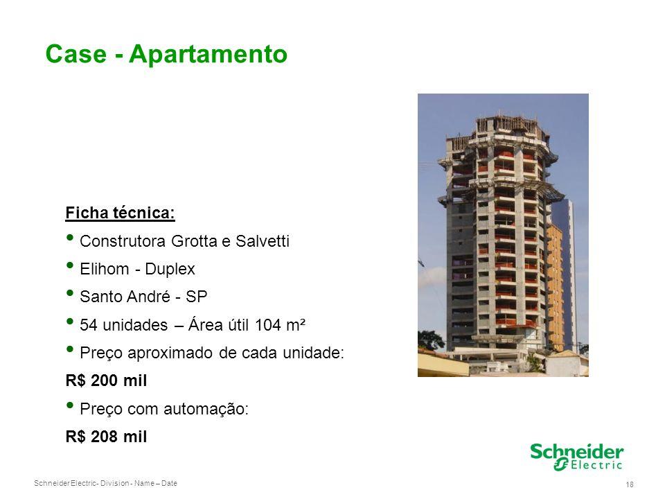 Case - Apartamento Ficha técnica: Construtora Grotta e Salvetti