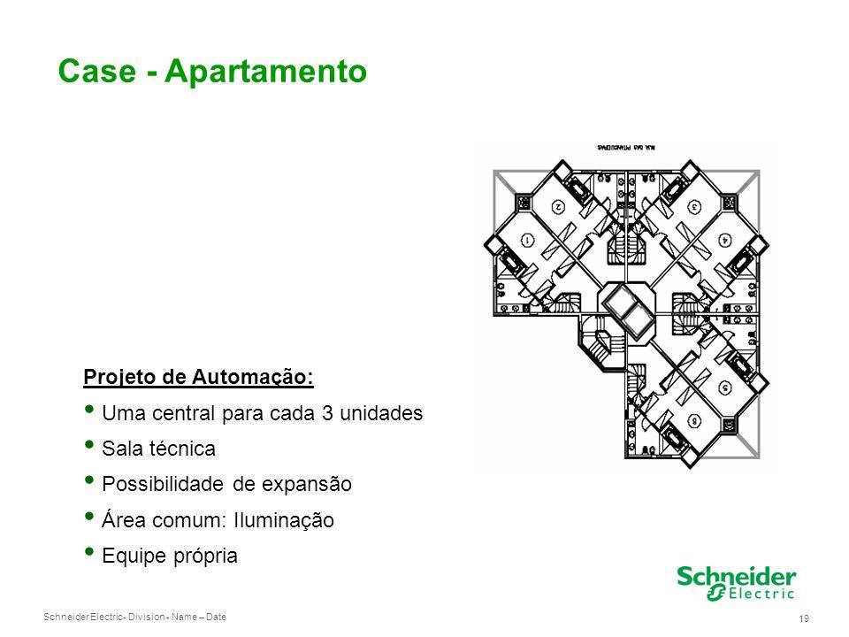 Case - Apartamento Projeto de Automação: