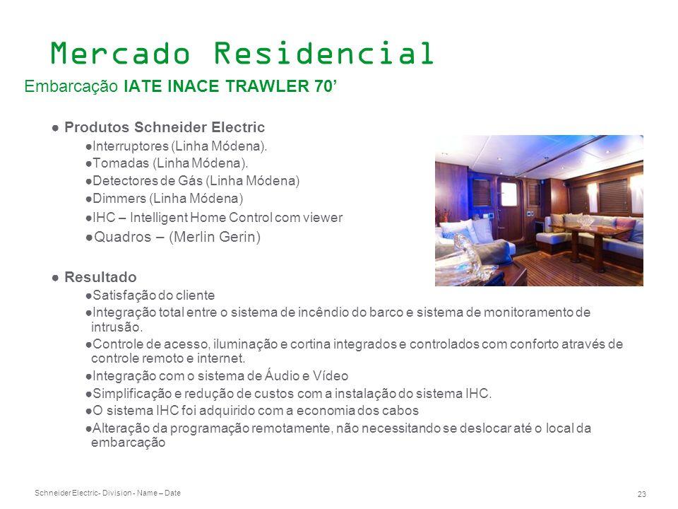 Mercado Residencial Embarcação IATE INACE TRAWLER 70'