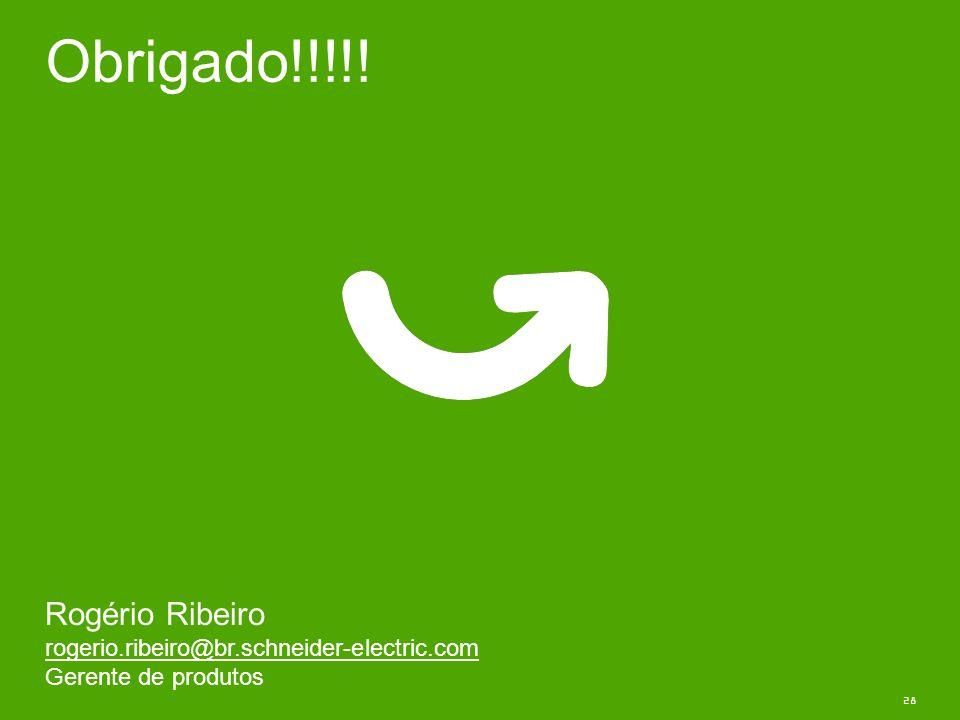 Obrigado!!!!! Rogério Ribeiro