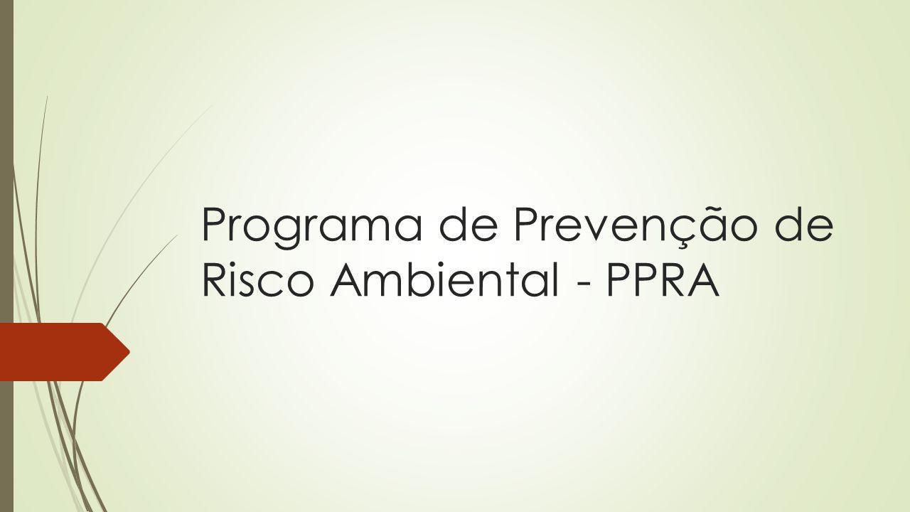 Programa de Prevenção de Risco Ambiental - PPRA