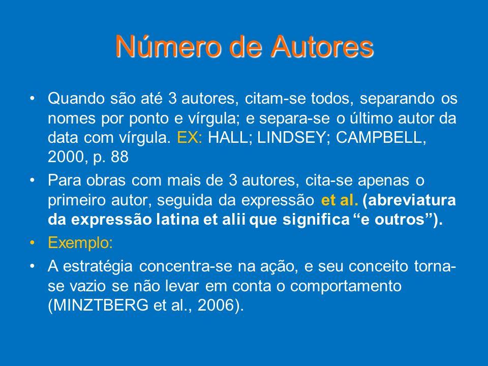 Número de Autores