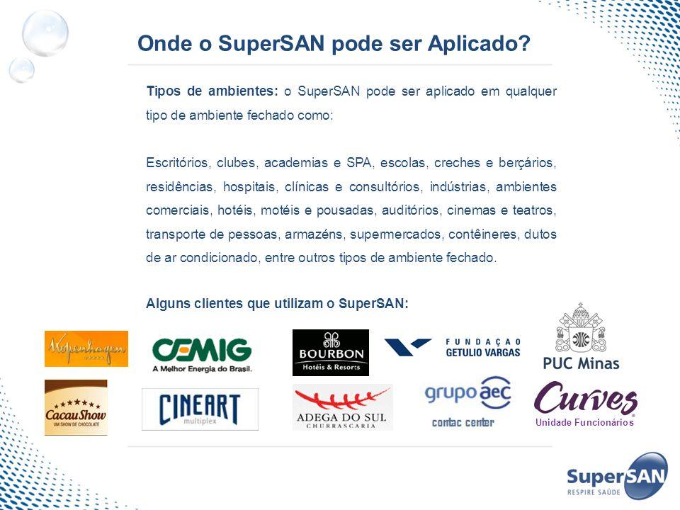 Onde o SuperSAN pode ser Aplicado