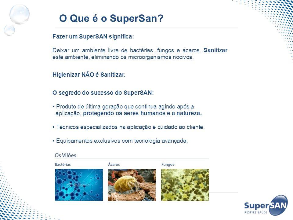 O Que é o SuperSan Fazer um SuperSAN significa: