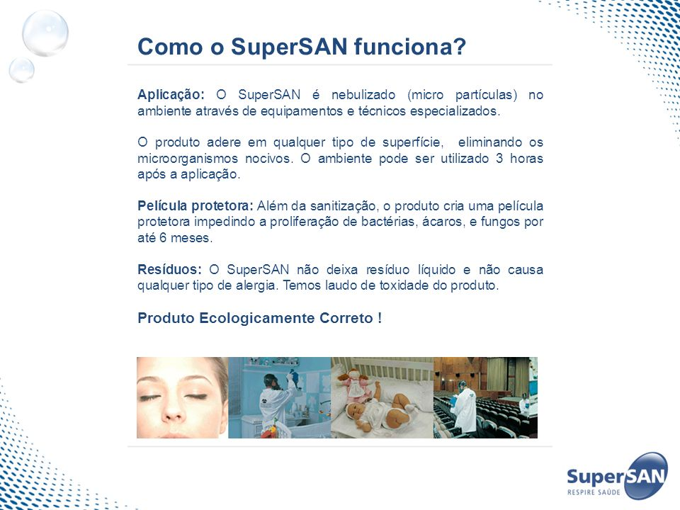 Como o SuperSAN funciona