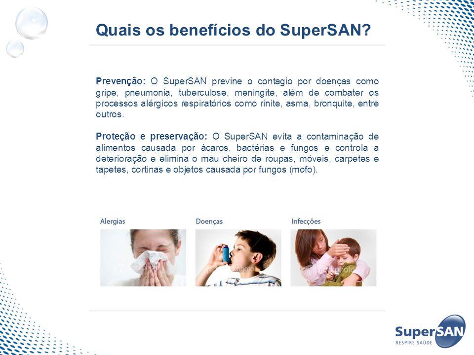 Quais os benefícios do SuperSAN