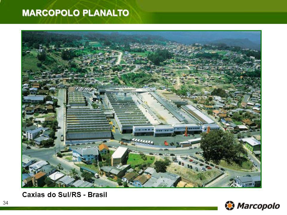 MARCOPOLO PLANALTO Caxias do Sul/RS - Brasil 34