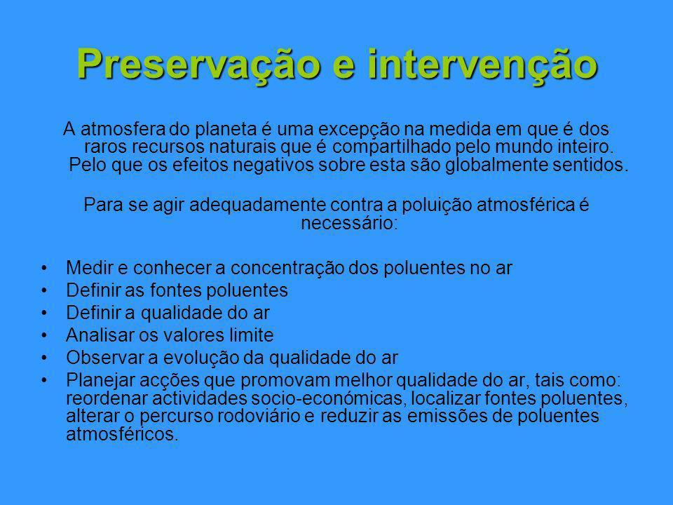 Preservação e intervenção