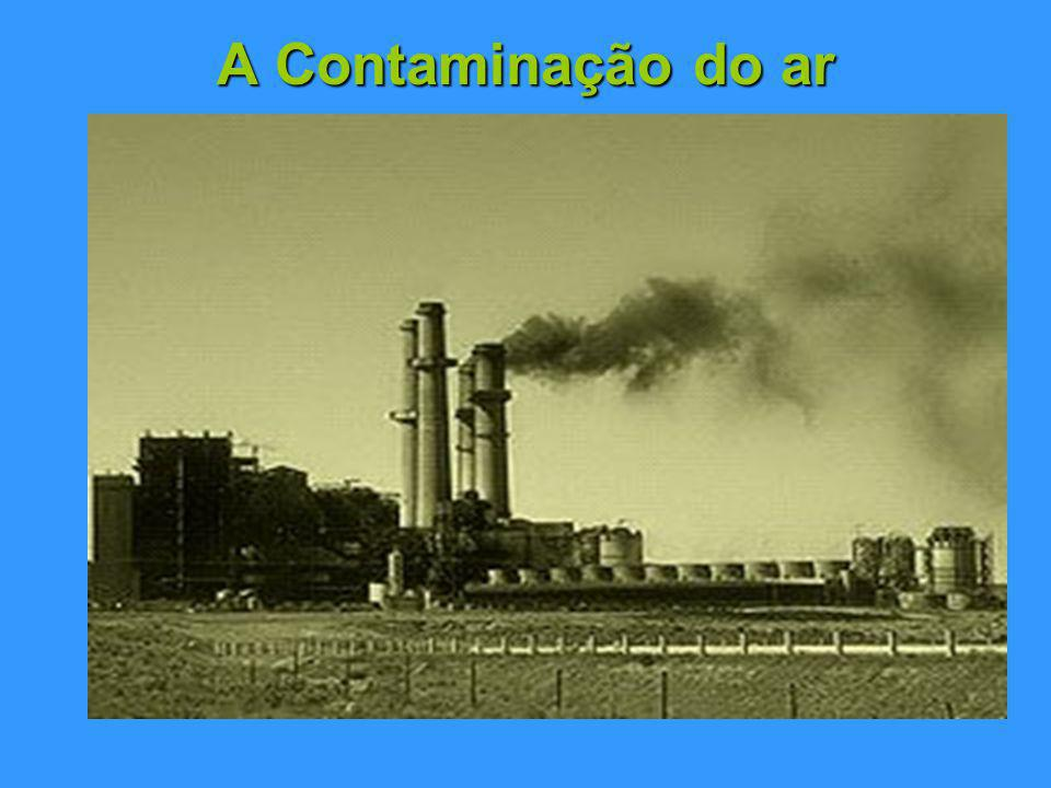 A Contaminação do ar