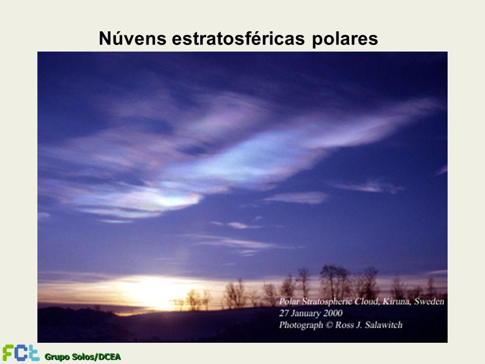 Núvens estratosféricas polares
